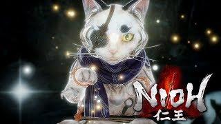 Nioh (PC) #3 - Японские коты... Японские стены... Японские циклопы...