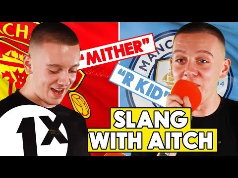"""""""Hench is big, the opposite of me!"""" Aitch teaches us Manchester slang on 1Xtra!"""