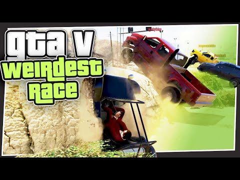 GTA 5 Online - The Weirdest Race (GTA Custom Games)