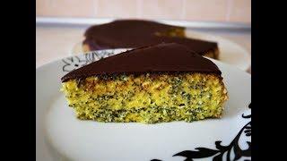 Маковый торт КИЕВЛЯНОЧКА нежный , вкусный и мягкий