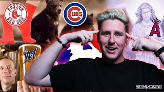 CAN YOU NAME MLB TEAMS THROUGH REAL PICTURES?! | Kleschka Quiz Time