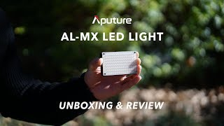 Aputure AL-MX LED Continuous Light Unboxing and Review
