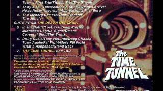 THE TIME TUNNEL SOUNDTRACK-John Williams-The Death Merchant-FULL SCORE