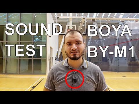Boya BY-M1 Sound Test || Unboxing and Review of the Boya Microphone for Smartphone and DSLR