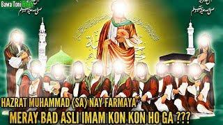 Asli 12 Imam Kon Hain ? - Ahlebait Ki Fazilat Explain 1st Time In [URDU-HINDI]