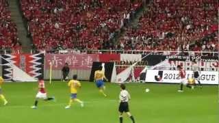 2012.06.24 浦和レッズ 1-1 ベガルタ仙台@埼スタ 後半ATの様子 埼スタ...