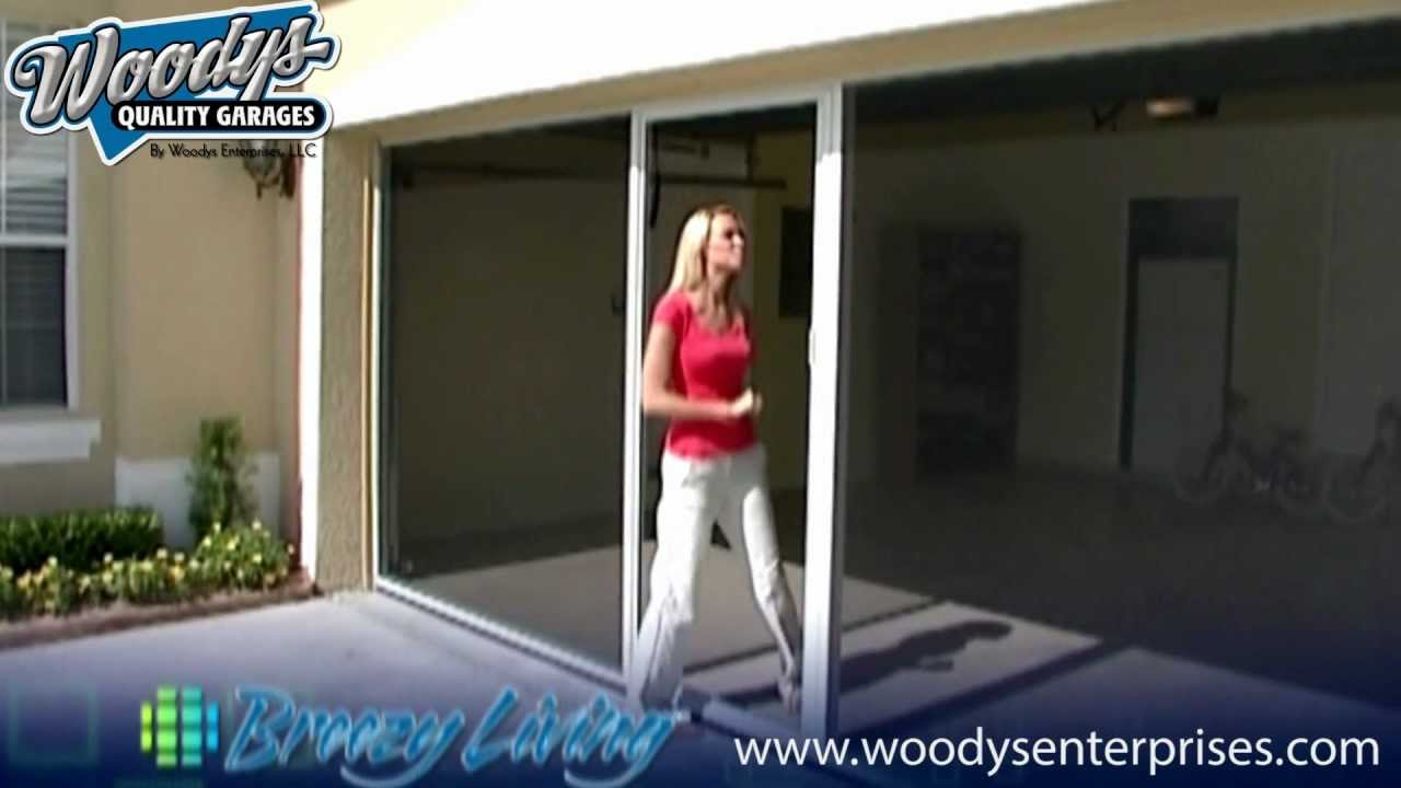 inspect door ideas for down youtube opener screen home pull with retractable biz themiracle garage