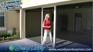 Garage Screen Door System Demonstration Video By Woodys Enterprises & Breezy Living