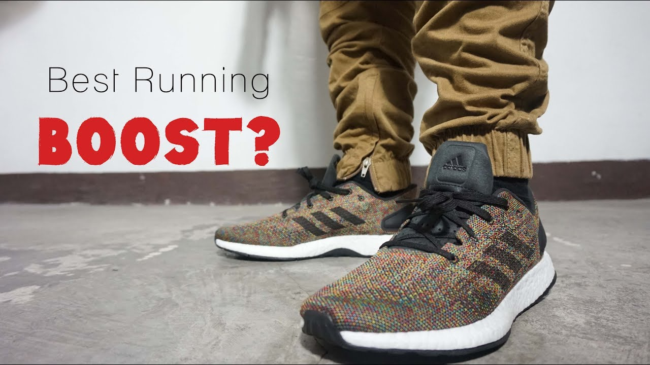 8b05aa943ab07 PUREBOOST DPR LTD MULTICOLOR   Best Boost for Running  - YouTube