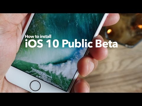 How-To: Install iOS 10 Public Beta