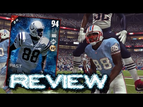 Madden 17 Ultimate Team | Ghost Of Madden Marvin Harrison Review