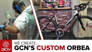 How Are Custom Painted Bikes Made? We Create The GCN Orbea Road Bike