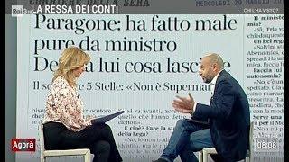 Gianluigi Paragone (M5S) a Rai3 - Agorà (INTEGRALE) 29/5/2019