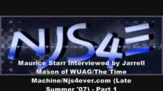 Maurice Starr Interview - Part 1