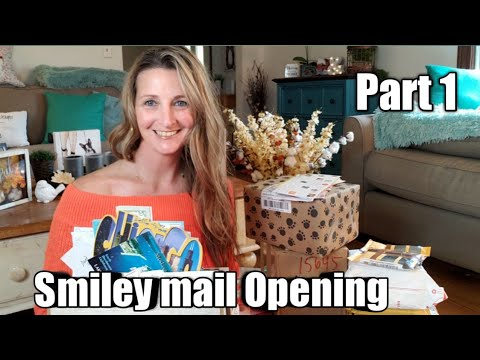 Smiley mail Opening part 1/ Thank you So Much❣