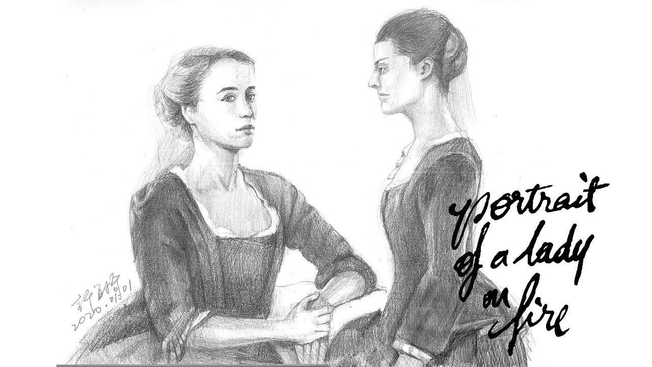 《燃燒女子的畫像》Portrait of a Lady on Fire/Portrait de la jeune fille en feu/微雷影評/ Movie Review#32