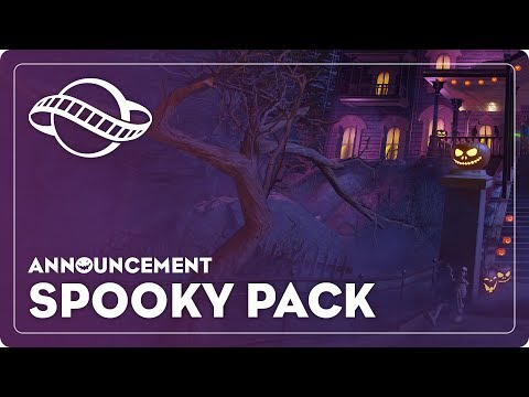 Planet Coaster's Spooky Pack Coming Soon!