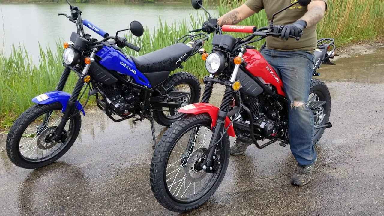 250cc Magician ENDURO DIRT BIKE RETRO MOTORCYCLE For Sale