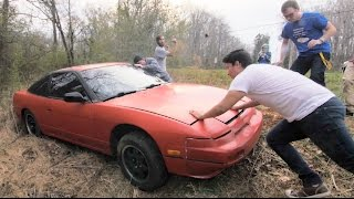 We Crashed a Nissan 240sx :(