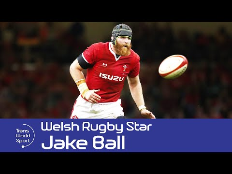 Jake Ball - Rising Welsh Rugby Star on Trans World Sport
