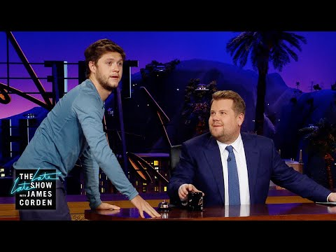 Niall Horan to the Rescue as James Corden's New Water Boy!