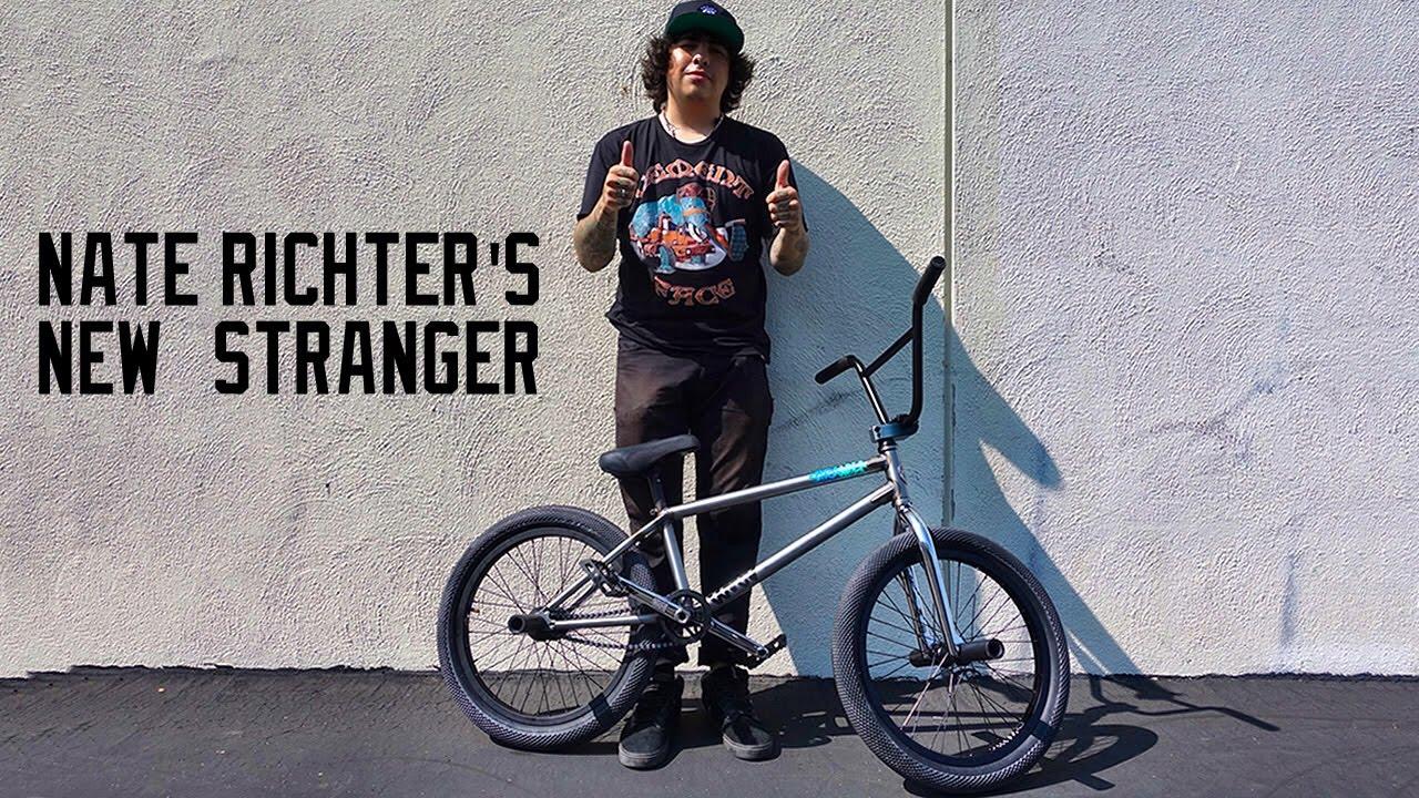 NATE RICHTER BUILDS A NEW STRANGER BMX - YouTube