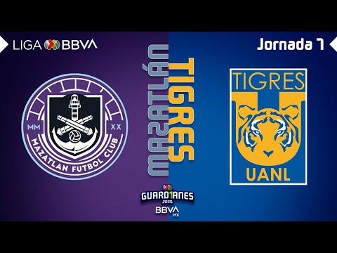 Resumen y Goles | Mazatlán vs Tigres | Liga BBVA MX - Guardianes 2020 - Jornada 7