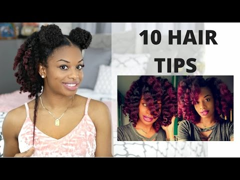 10 TIPS TO GROW AND RETAIN LONG HEALTHY NATURAL HAIR & RELAXED HAIR  | journeytowaistlength