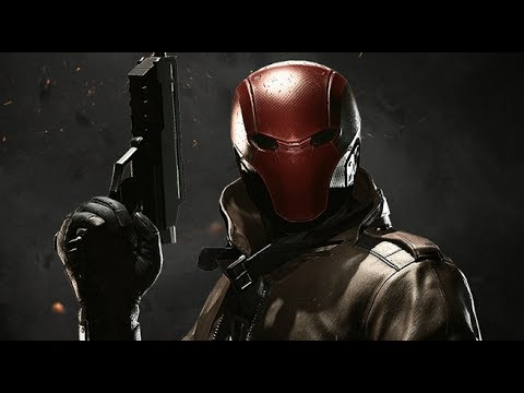 Injustice 2 Red Hood intro/super move/outro