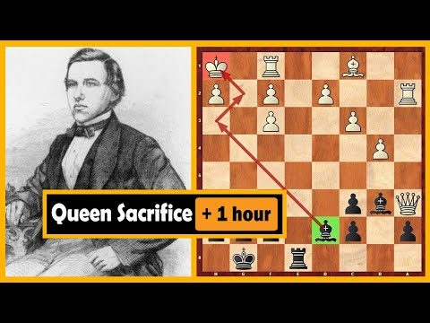 Morphy's Amazing Move Made Paulsen Think More Than An Hour