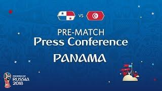 FIFA World Cup™ 2018: PAN vs TUN : Panama - Pre-Match Press Conference