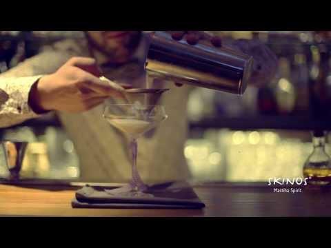 Principe Rose - a unique Skinos cocktail by Konstantinos Tsatsiras