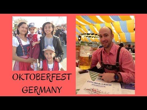 Travel vlog Part 3 - Oktoberfest  2016 - Munich, Germany