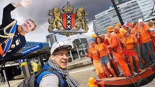 Поехали в Амстердам. День рождения Короля (продолжение с канала STREKOZA.travel)