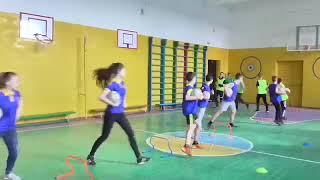 Інноваційний урок з фізичної культури з елементами футболу.