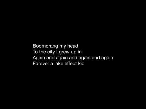 Fall Out Boy: Lake Effect Kid (Lyric Video)