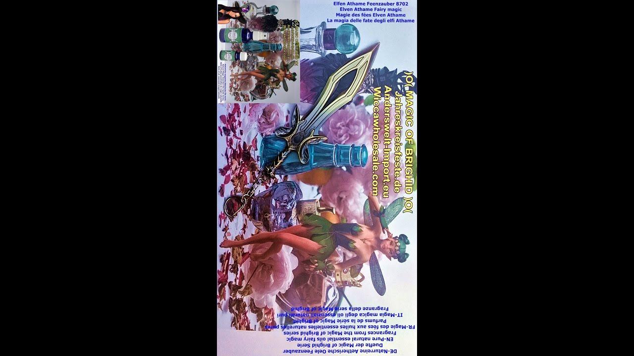 Pure natural essential oils fairy spells fragrances of the Magic of Brighid