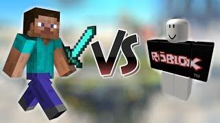 Minecraft Steve vs Roblox Gast | SSB4