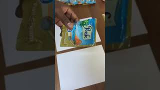 Differences between Original and Fake Sachet Peak powdered milk