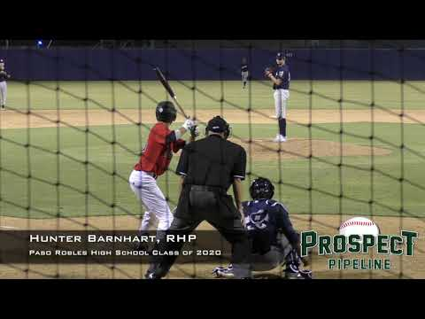 Hunter Barnhart Prospect Video, RHP, Paso Robles High School Class of 2020