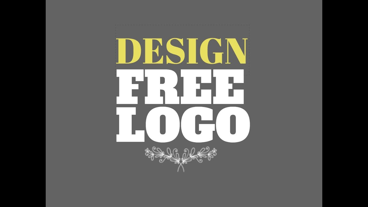 how to design a logo for yourself