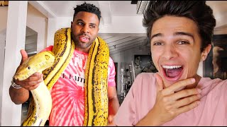 SURPRISING JASON DERULO WITH HIS BIGGEST FEAR!!