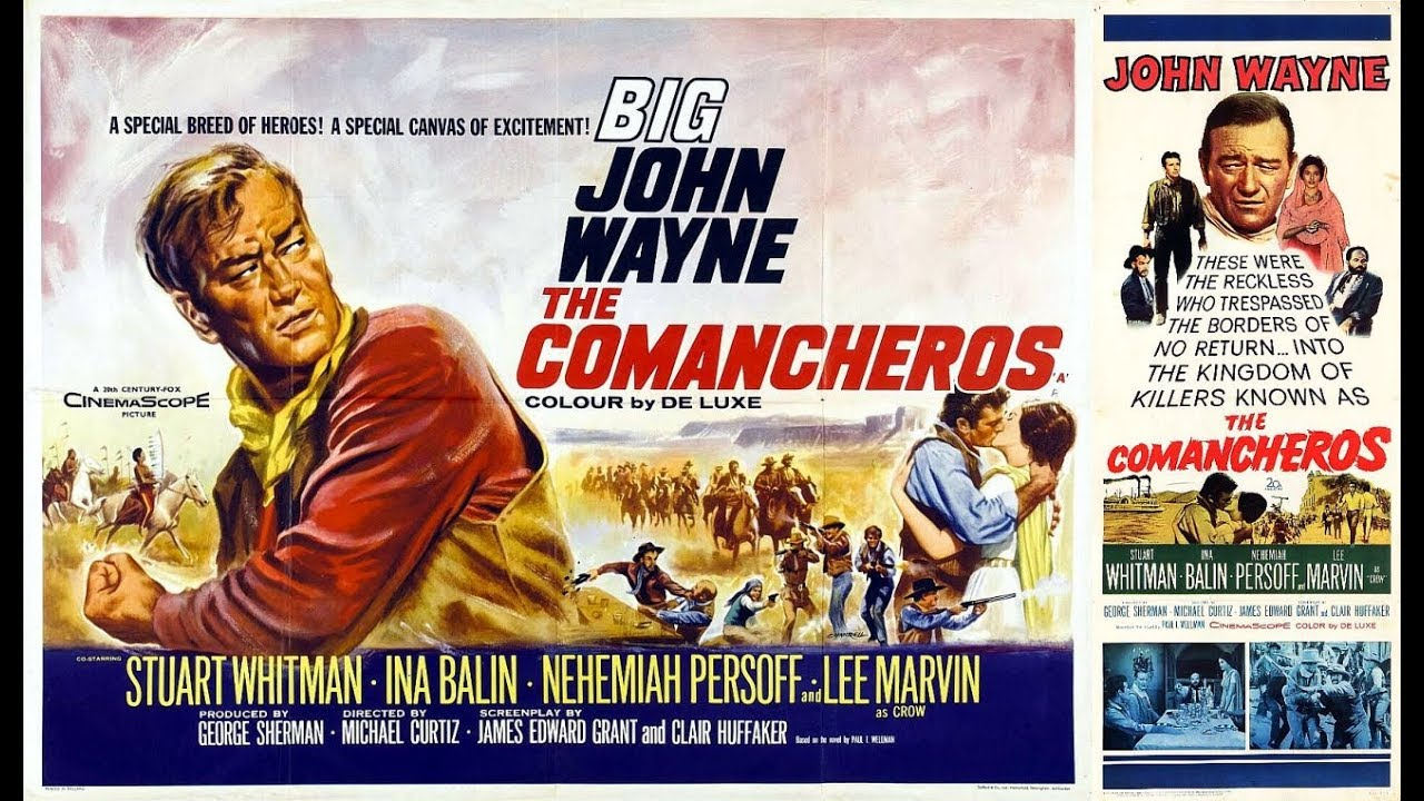 Genre Files: The Comancheros (1961) - YouTube