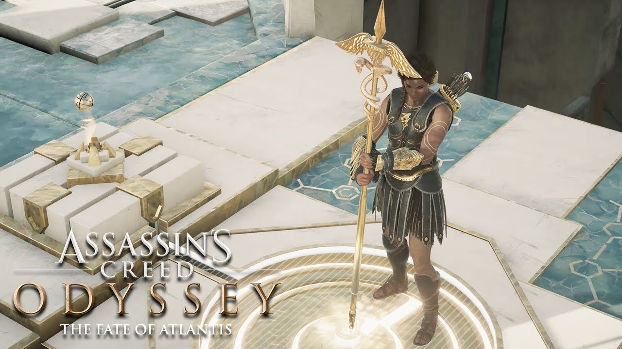 Kassandra Destroys Atlantis Assassin S Creed Odyssey The Fate Of Atlantis Episode 3 Youtube