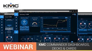 Webinar: KMC Commander Dashboards, Decks and Cards | 04.30.19