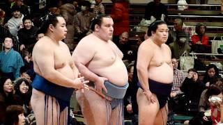 2012年1月22日(日)平成24年大相撲初場所 千秋楽、三賞受賞式の模様です...