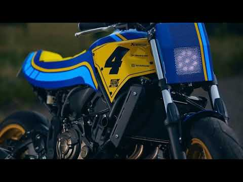 Yamaha XSR700 Custom Road Tracker