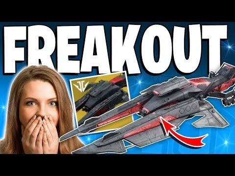 Destiny 2 - Funny ALWAYS ON TIME EXOTIC REACTION! - Top 5 Freakouts Epsiode 115 thumbnail