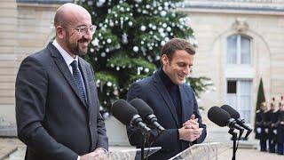 Déclaration avec Charles Michel, Président du Conseil européen.