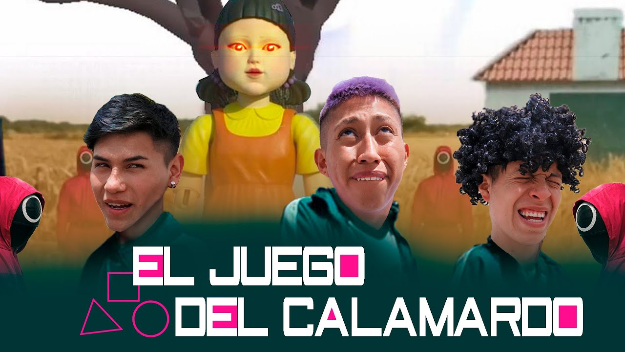 EL JUEGO DEL CALAMARDO / Bryan Sebastian Ft.  Elenco B.S